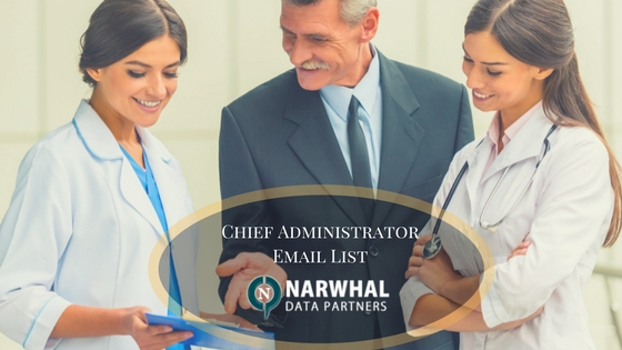 Chief Administrator email database, Chief Administrator database in USA