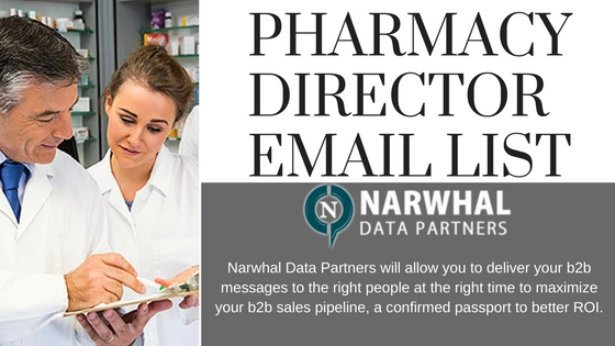 PHARMACY DIRECTOR EMAIL LIST