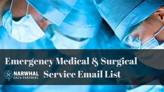 Emergency Medical & Surgical Service Email List