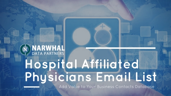 Hospital Affiliated Physicians Email List