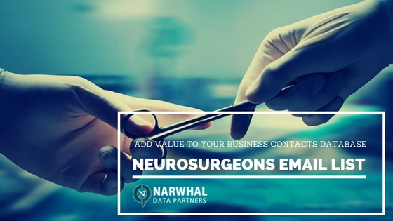 Neurosurgeons Email List