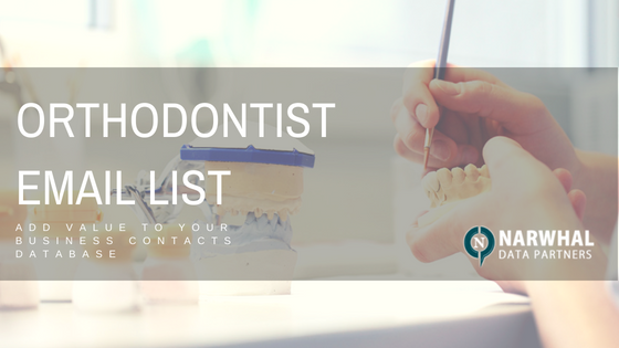 orthodontist email list