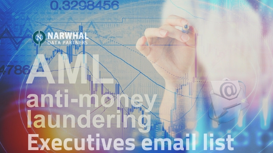 Anti-money Laundering (AML) Executives email list