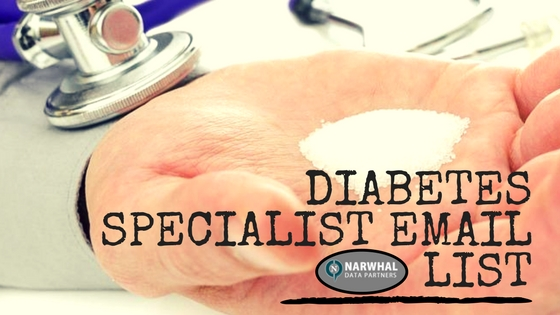 Diabetes Specialist Email List