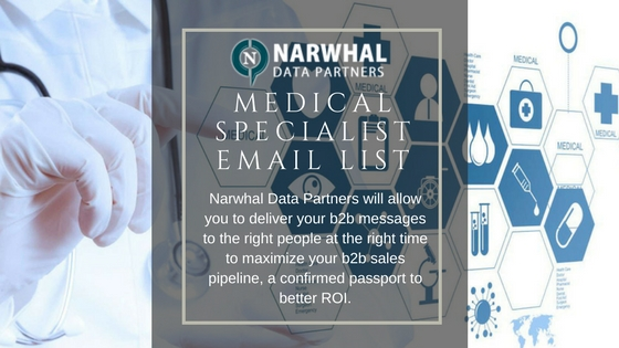 MEDICAL SPECIALIST EMAIL LIST