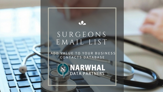 Surgeons Email List