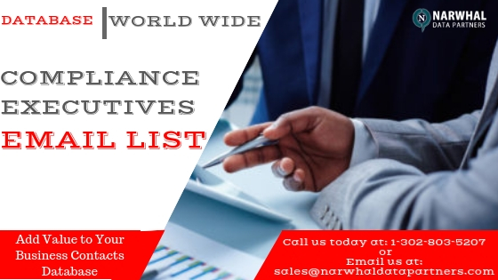 Compliance Executives Email list