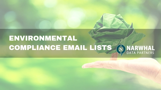 Environmental compliance email lists