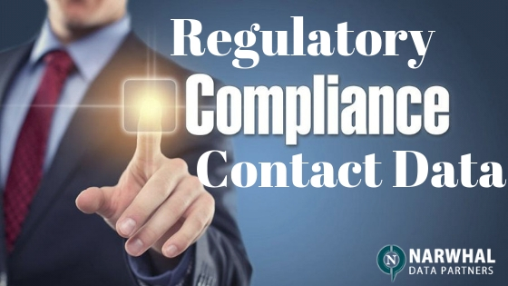 Regulatory Compliance Contact Data